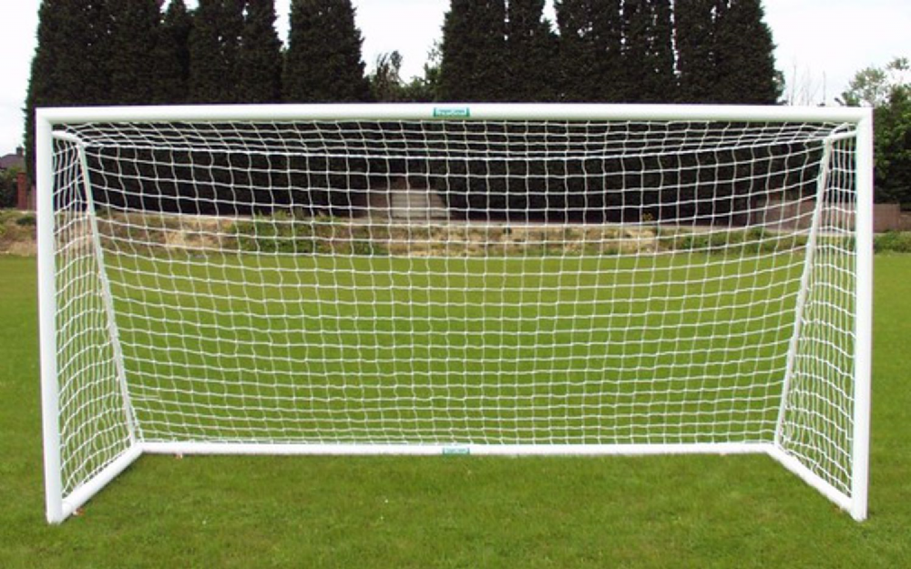 Folding - Aluminum Goalpost Lightweight Fold away - 12 x 4